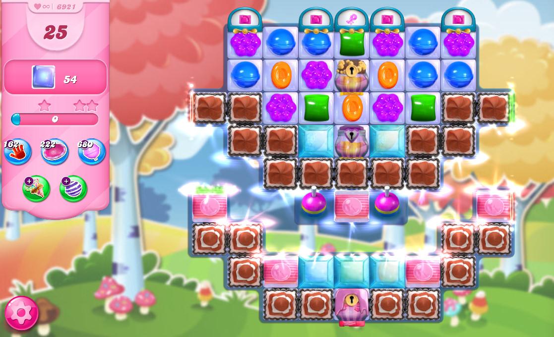Candy Crush Saga level 6921