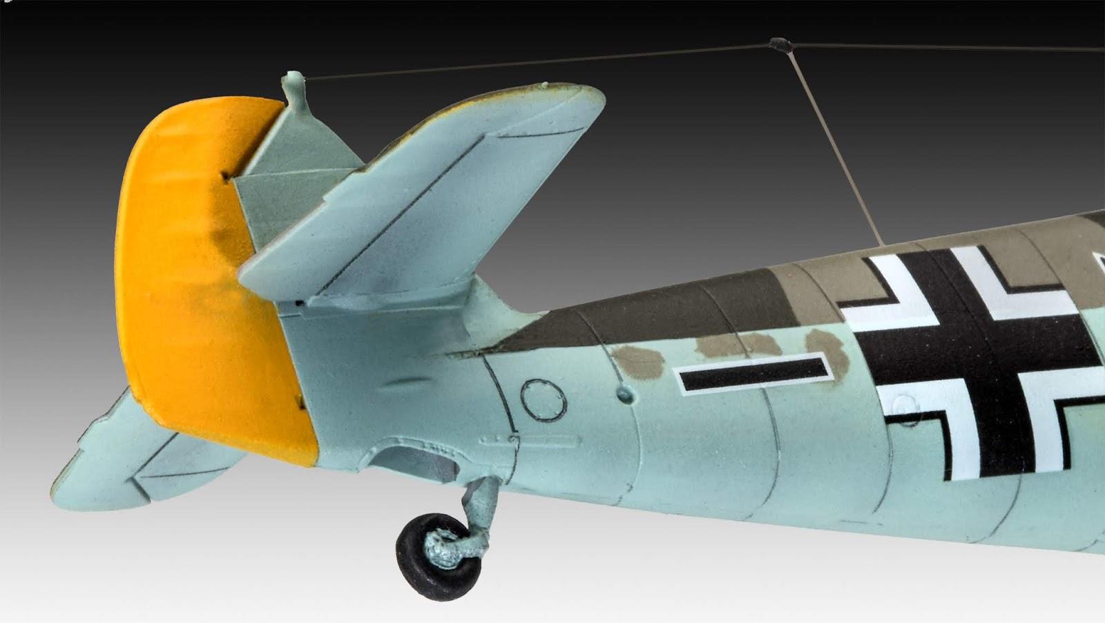 Revell:  Messerschmit Bf109 F-2 #released - 1_72_aircraft_news
