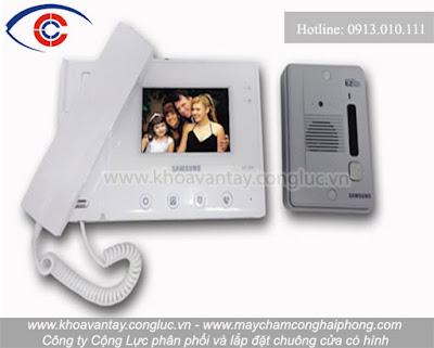 Samsung - Thương hiệu chuông cửa màn hình được nhiều khách hàng tại Hải Phòng lựa chọn lắp đặt.
