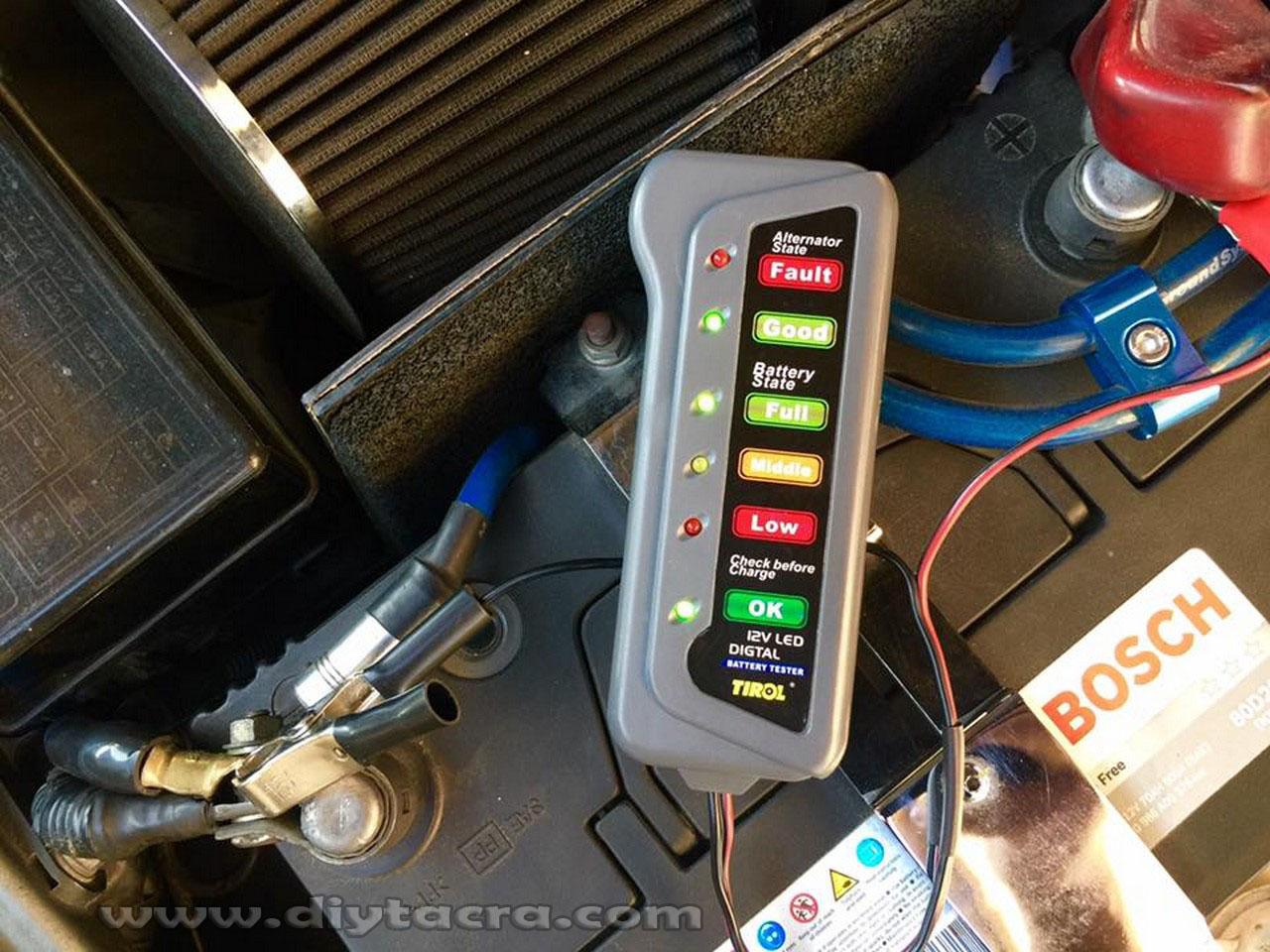 Tacras Diy Garage Battery Alternator Proton Saga Blm Fuse Box Diagram Kini Terdapat Device Yang Boleh Digunakan Untuk Memeriksa Keadaan Bateri Dan Kereta Seperti Alat Kecil Ditunjukkan Di Atas Dengan Ini
