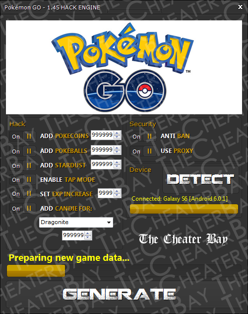 Pokemon Go New 2016 Hack Cheat Pokecoins Pokeballs Candies Stardust Tip Pokemon Go New