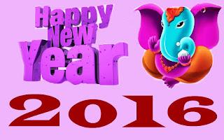 Kartu Ucapan Happy new year 2016 selamat tahun 2016 6