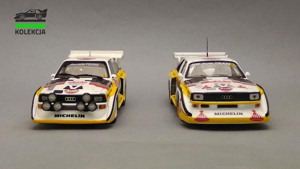IXO vs PMA Minichamps Audi Quattro S1