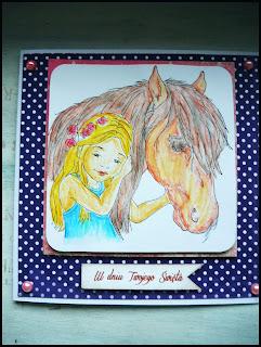 Dla miłośniczki koni