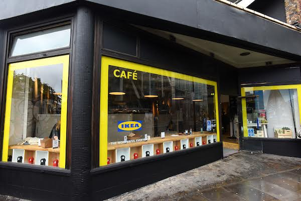 London pop ups ikea 39 s pop up cafe and store in shoreditch for Ikea shops london
