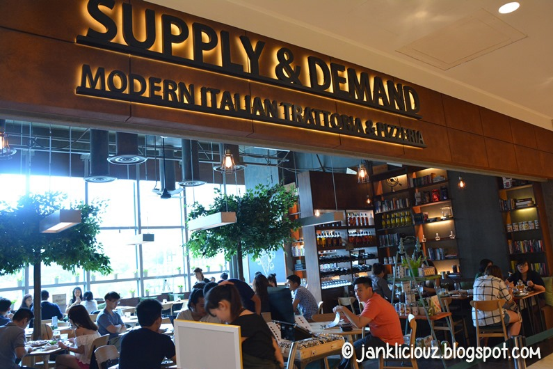 Supply & Demand - Modern Italian Trattoria & Pizzeria
