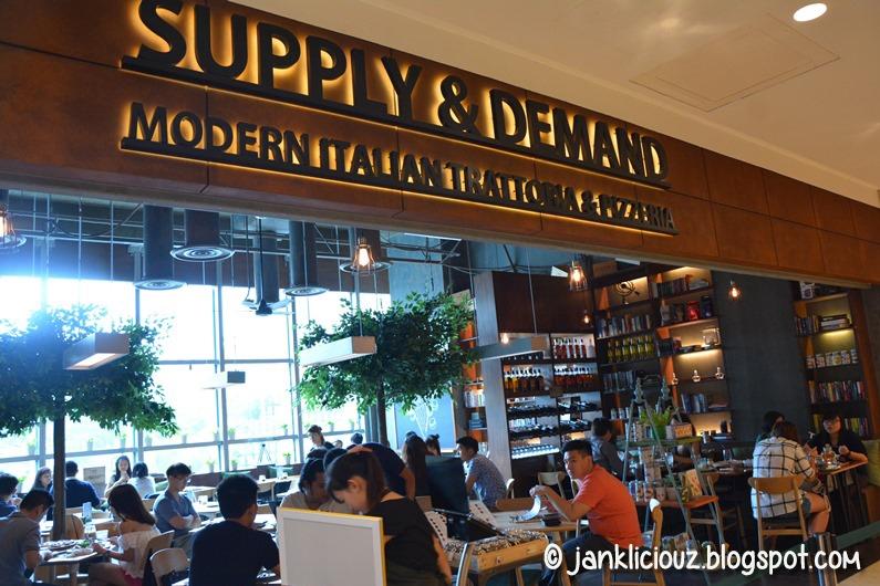 Supply & Demand - Modern Italian Trattoria & Pizzeria