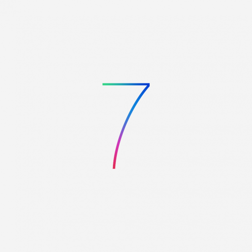 iOS 7 wallpaper for iPad Mini