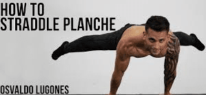 Straddle planche by Osvaldo lugones