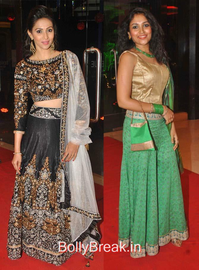 Rishina Kandhari, Shruti Bapna, Hot Pics of Divyanka Tripathi At Karan Patel Ankita Bhargava's sangeet ceremony
