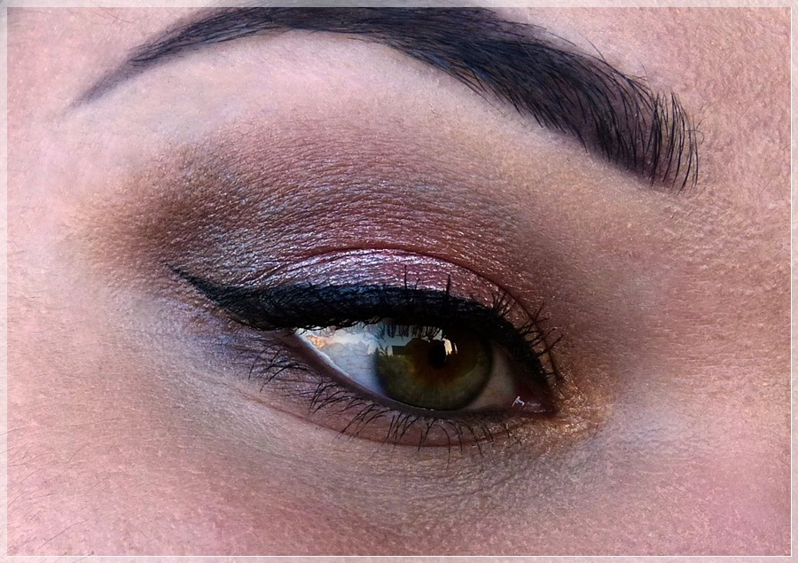 essence augen make up look
