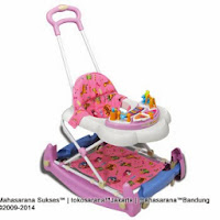 2 in One Royal RY8188 Circus Baby Walker and Rocker