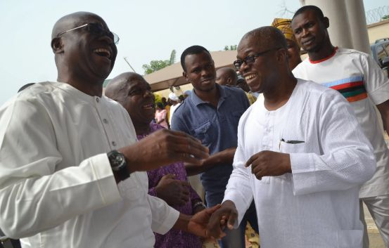 Fayose Raising False Alarm, says Ex-Governor Oni
