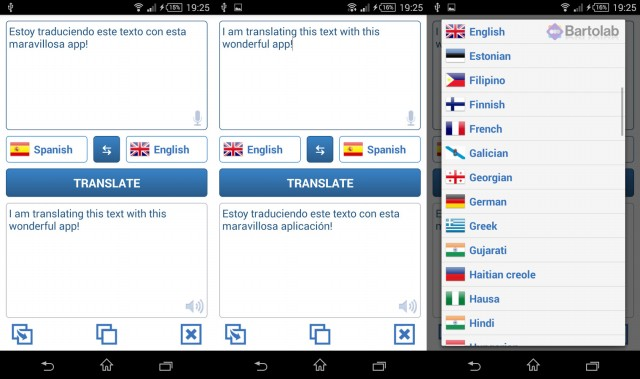 Fast Translator App for Android