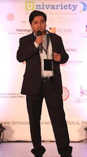 Kokuyo Camlin talks about 'Making Learning Fun' at University Guidance Conference