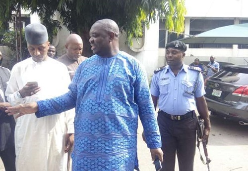 Tension In NFF Headquarters As Police Arrests Chris Giwa
