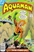 Aquaman v1 #60 dc 1970s bronze age comic book cover art