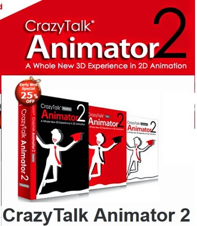 Crazytalk Animator 2 Pipeline Full+Bonus Pack Mega.co.nz Beklemeden İndir