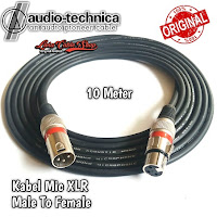 Kabel Mic XLR Male To Female Canon Canare 10 Meter