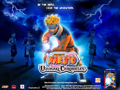 Download Game Naruto Uzumaki Chronicles 1 for Computer PC or Laptop