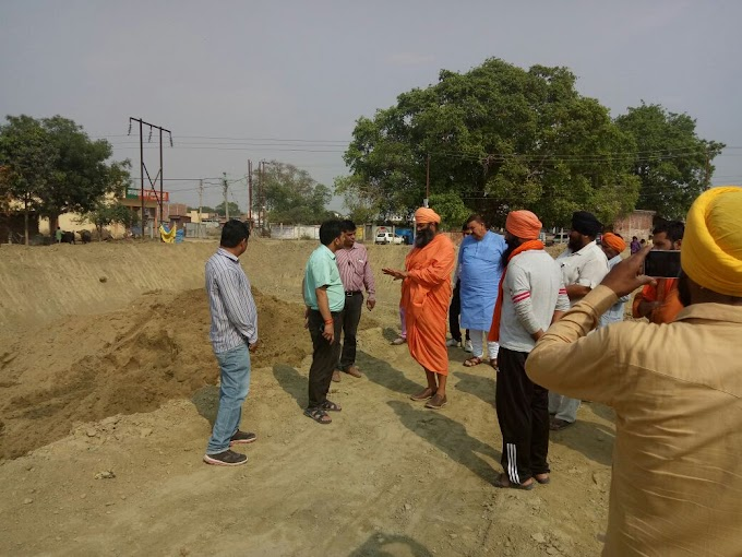 First phase of the work being done under the Seechewal Model...