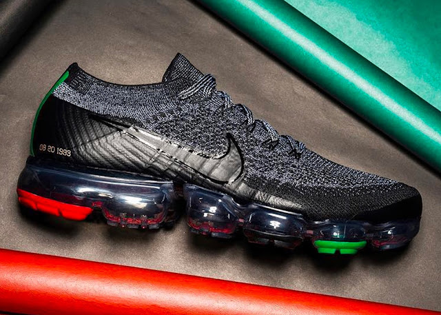 The Nike VAPORMAX (BHM) Sneaker Set To Be Released In 2018 (Side View)