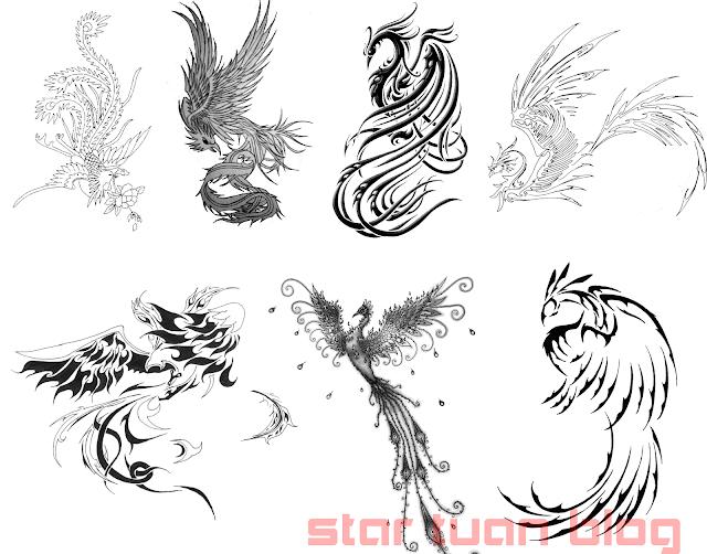 Share 7 Brush Phượng Hoàng Đẹp - Brush Phoenix