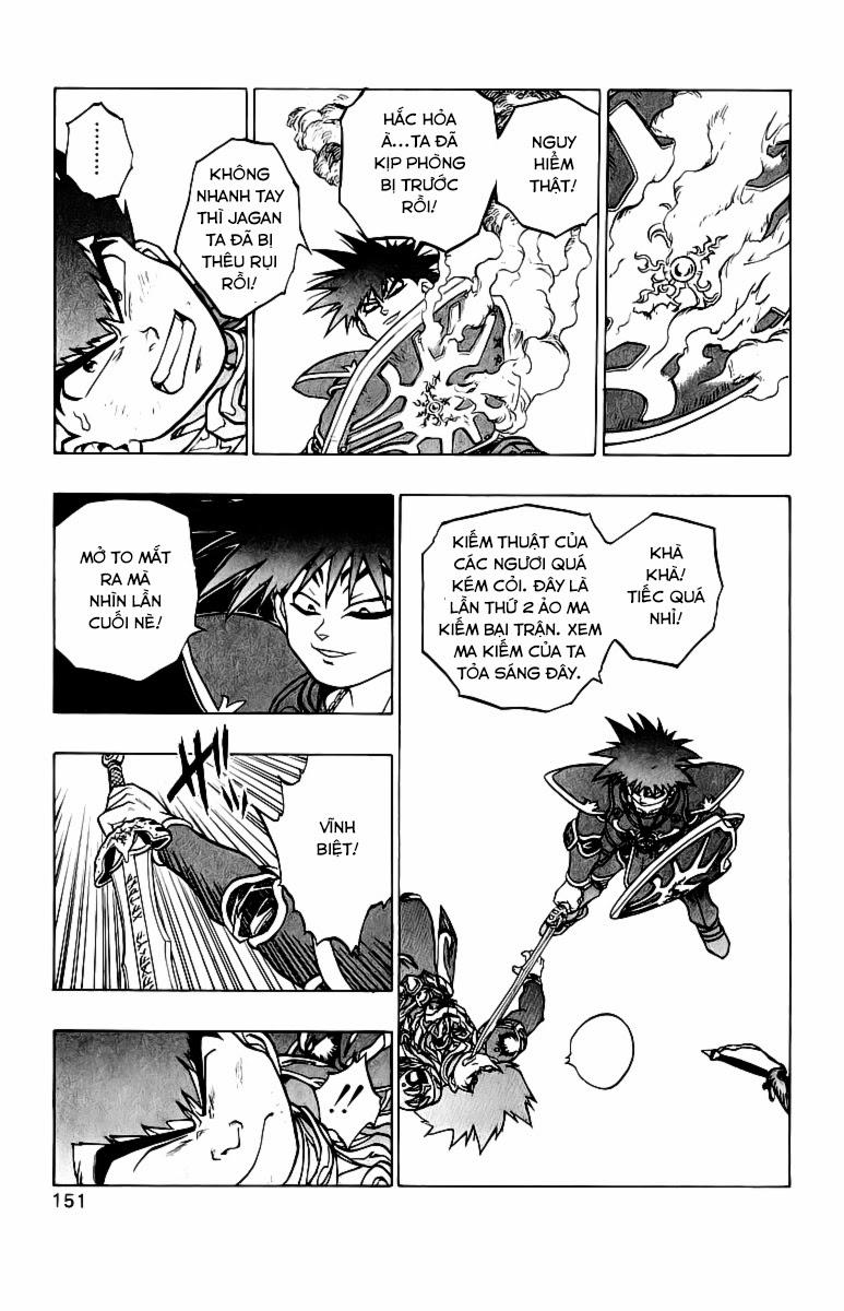 Dragon Quest: Emblem of Roto chap 37 trang 11