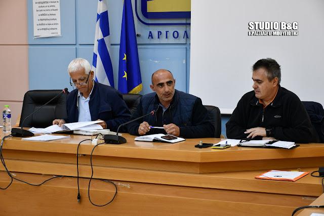 Σύσκεψη του Συντονιστικού Τοπικού Οργάνου Πολιτικής Προστασίας του Δήμου Ναυπλιέων ενόψει Χειμώνα