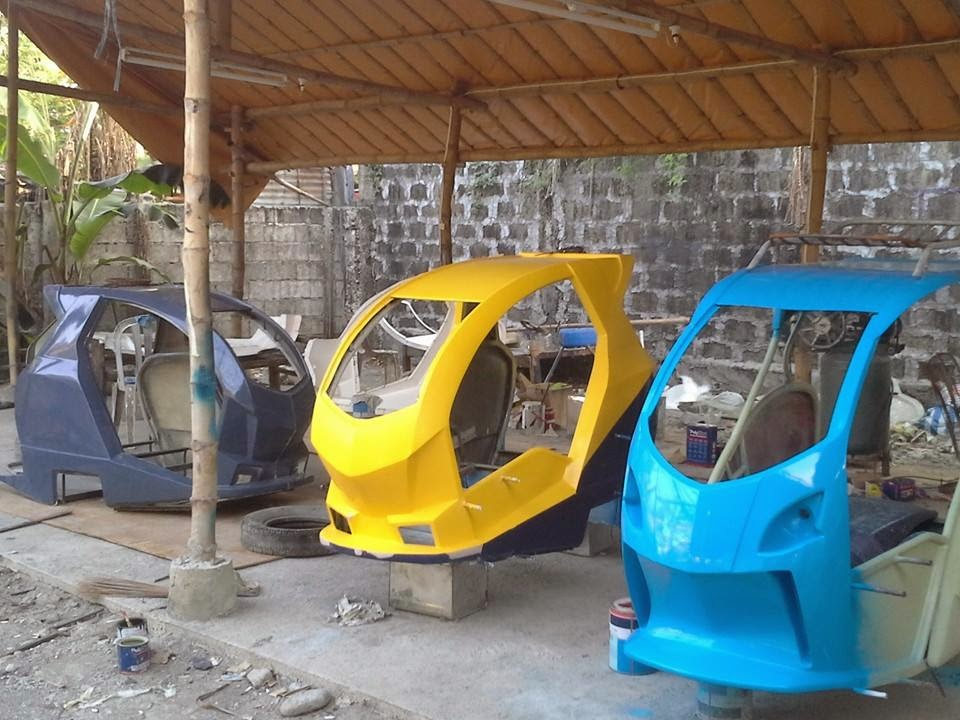 Color Tricycle Philippines Sidecar Design