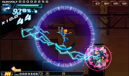 Free Download Azure Striker Gunvolt Full Game
