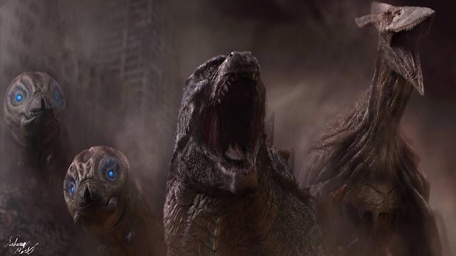 Papel de parede grátis Filme Godzilla 2 O Rei dos Monstros para PC, Notebook, iPhone, Android e Tablet.