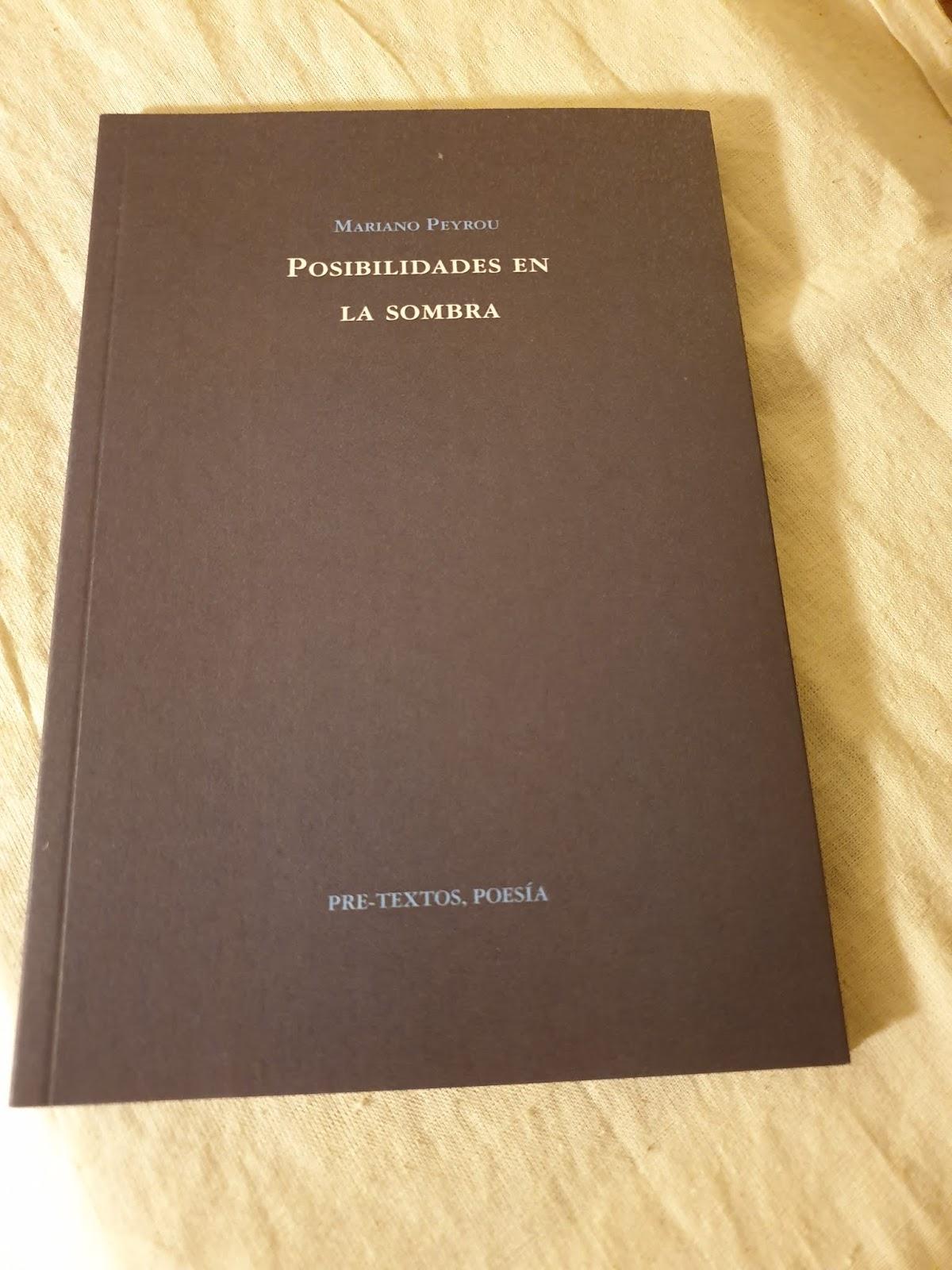 Poemario de Mariano Peyrou