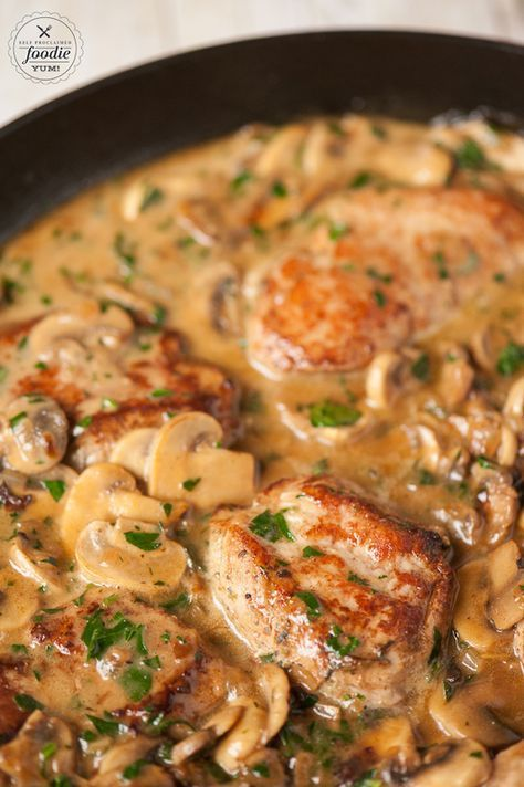 TENDER PORK MARSALA RECIPE