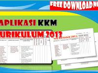 Aplikasi KKM Kurikulum 2013 Baru Jenjang Sekolah Dasar