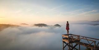 Sunrise Negeri Awan Mangunan