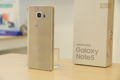 Hình ảnh Samsung galaxy Note 5 Gold