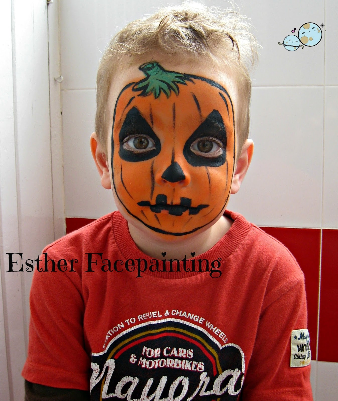 Maquillaje De Halloween Para Ni Os Calabaza