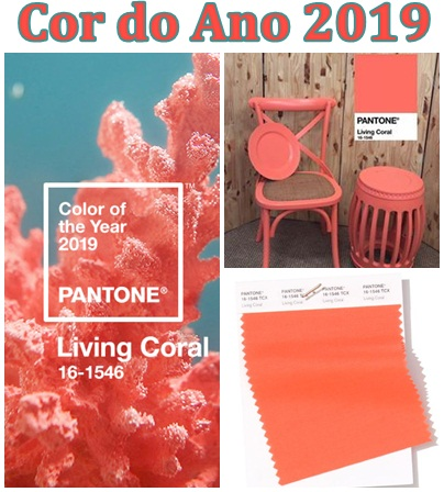 coral- cor do ano-Pantone-2019