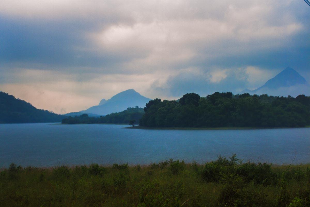 Pechiparai Dam near Kanyakumari