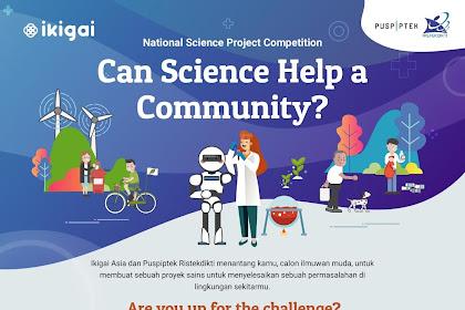 Lomba Proyek Sains Nasional Ristekdikti 2019 SMA Sederajat