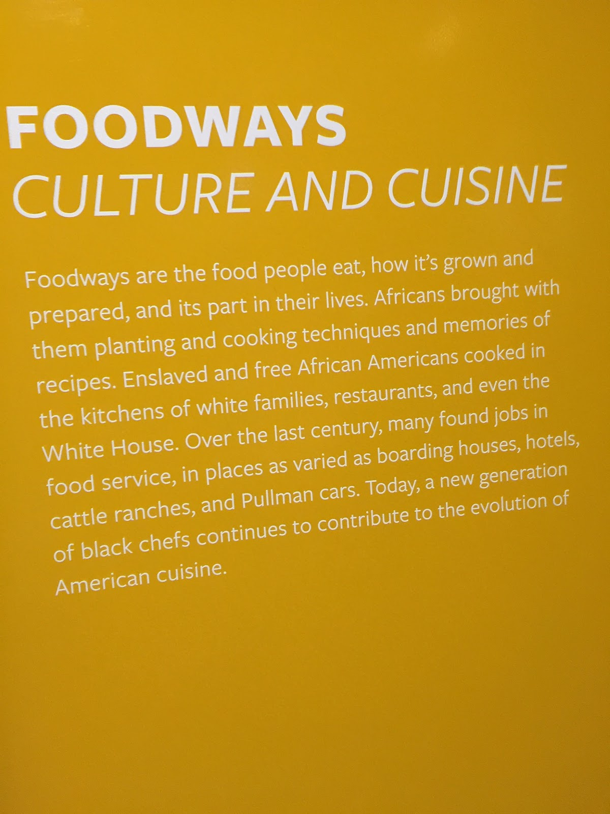 Sweet home cafe holiday take home menu from national for African american cuisine history