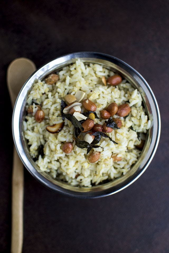 Tamarind Rice with Coconut