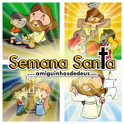 Semana Santa Desenho Para Colorir Amiguinhos De Deus