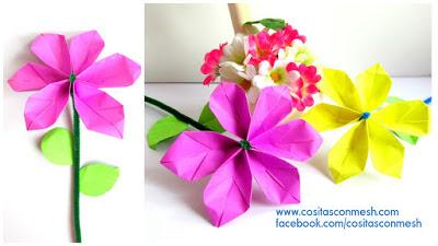 flores-papel