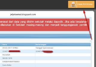 cetak halaman info gtk