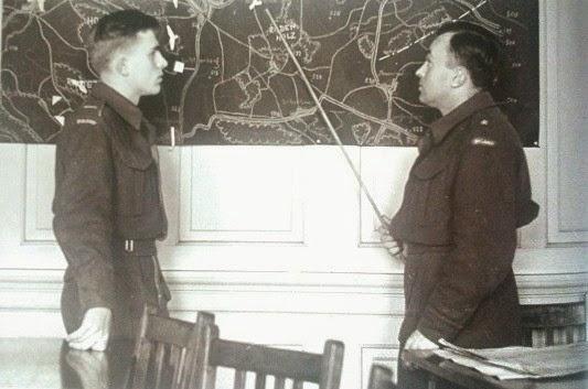 Alojzy Józekowski i Jerzy Hryniewiecki w Glasgow 1943