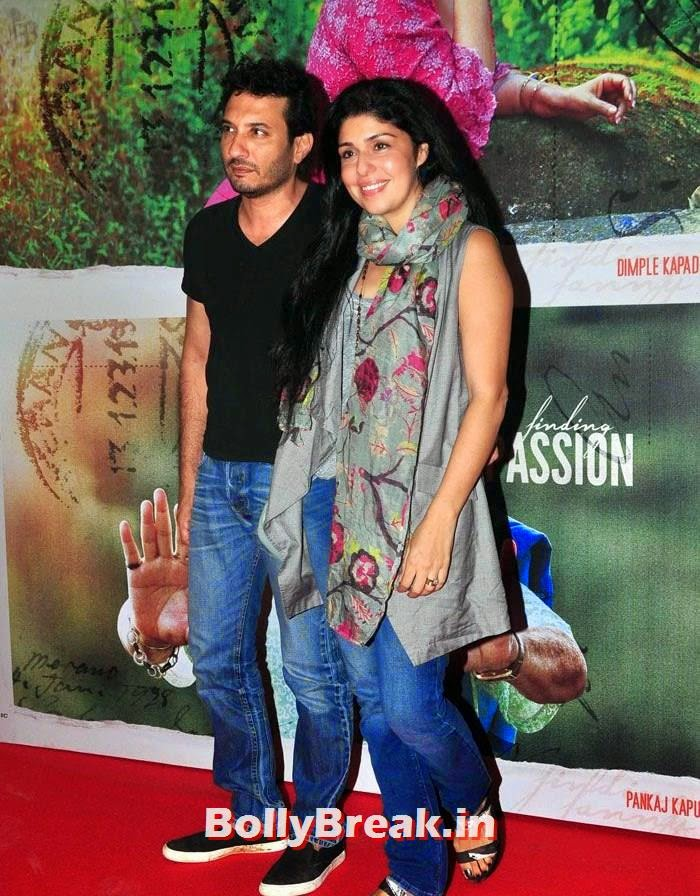 Homi Adajania, Anaita Shroff Adajania, Deepika, arjun, Hrithik Pics from Finding Fanny Movie Screening