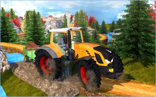 Game Tractor Hill Driver 3D Apk