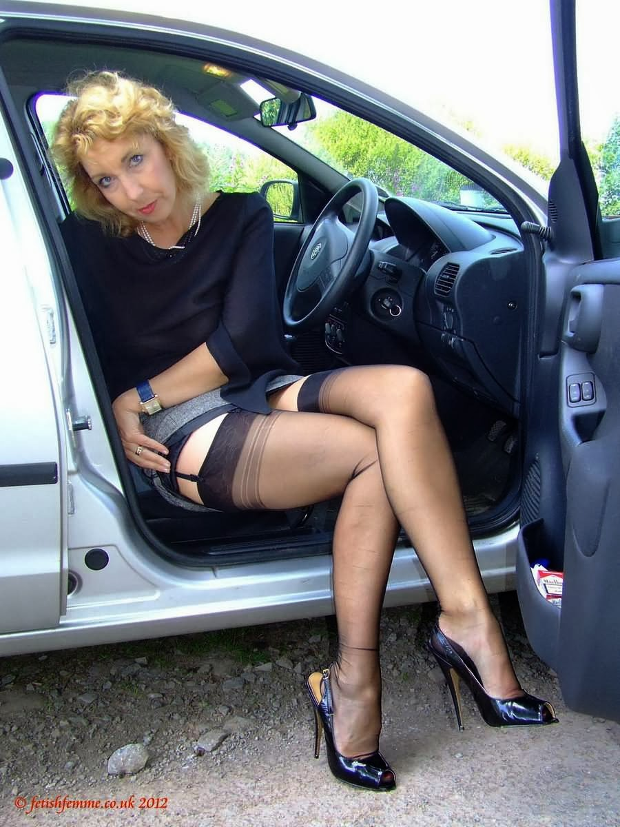 Upskirt At Car 27